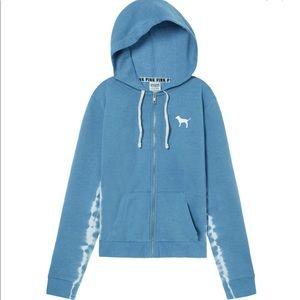 Pink VS full zip hoodie